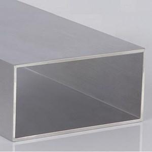 """Tubo Retangular de Alumínio de 4"""" x 2"""" x 1,7mm   50cm   Valor da Barra"""