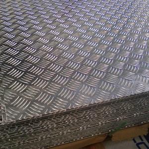 Chapa Xadrez Esp. 2,70mm | Liga 5052 Tempera H134 | Valor do pacote c/ 8 peças