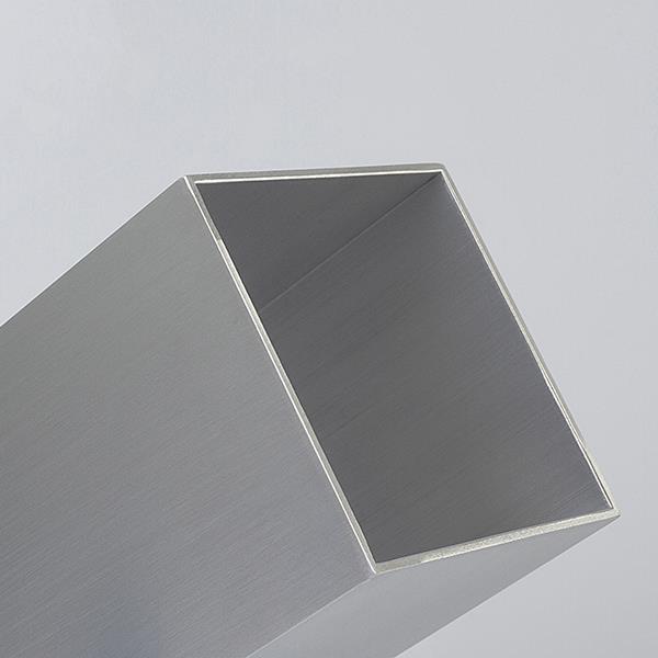 """Tubo Retangular de Alumínio de 2"""" x 1"""" x 1mm   50cm barra   Valor da Barra"""